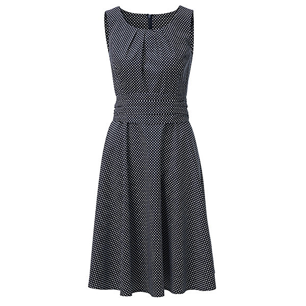 Cotton Dress with Polka Dots_01