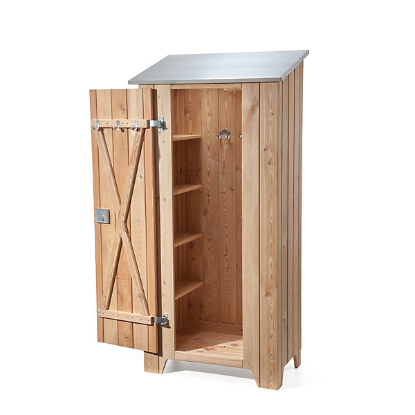manufactum gartenschrank l rchenholz manufactum online shop. Black Bedroom Furniture Sets. Home Design Ideas