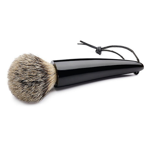 Shaving brush, African horn tip_01