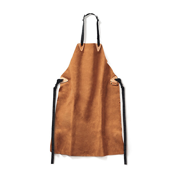 Fristads' Long Cow Split Leather Apron_01