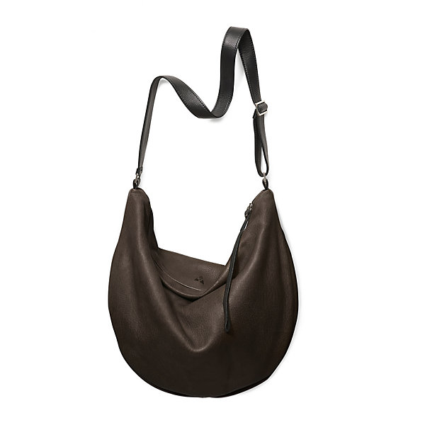 Women's Large Buckskin Leather Bag_01