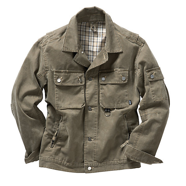 Cotton Canvas Work Jacket_01