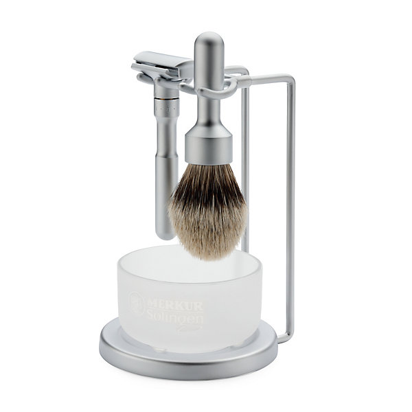 Merkur Futur shaving set with soap bowl_01