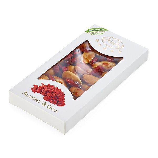 Almond Brittle with Goji Berries Organic Quality_01