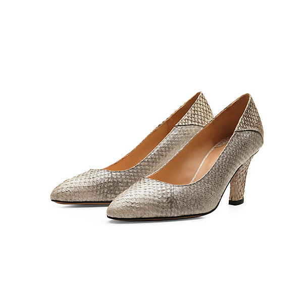 Alina Schürfeld Ladies' Salmon Leather Pumps_01