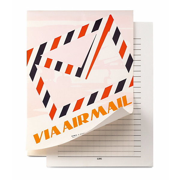 Airmail Paper Writing Block