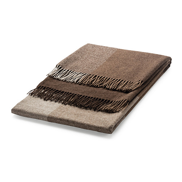 Blanket Made of Yak Hair with Colour Gradations