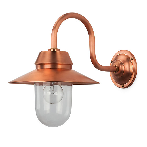 Good Bolich Small Copper Outdoor Lamp