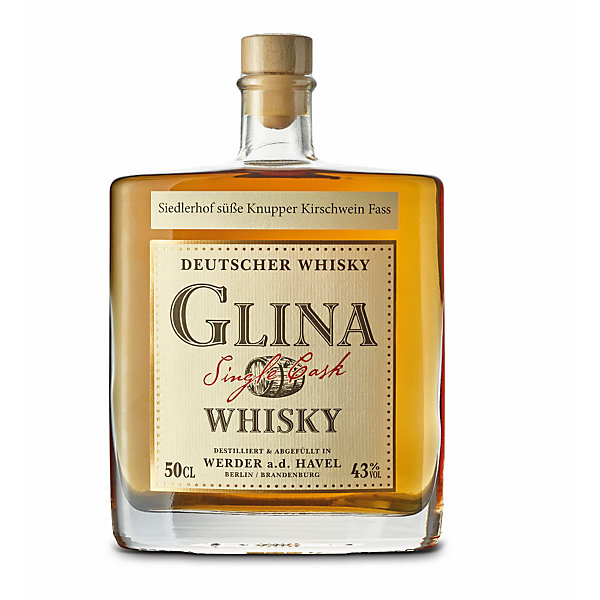 Glina Single Cask Whisky Kirschweinfass
