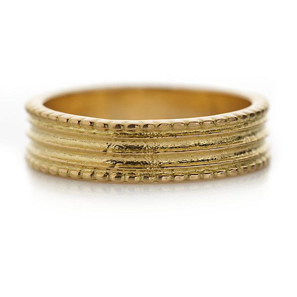 Goethe Fingerring Gold