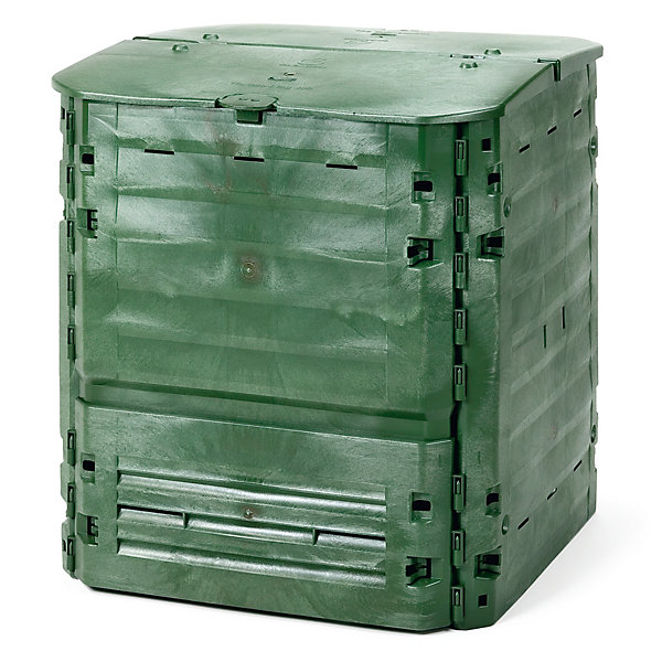 Insulating Plastic Thermo-Composter
