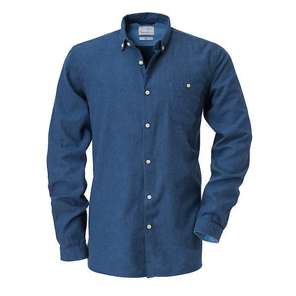 Knowledge Cotton Apparel Flannel Shirt