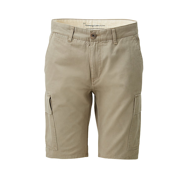 Knowledge Cotton Apparel Herren-Cargo-Bermudas
