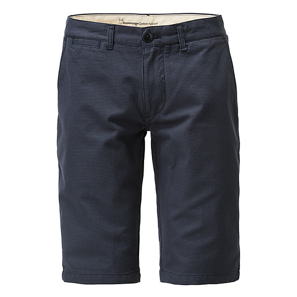 Knowledge Cotton Apparel Herren-Shorts Hahnentritt