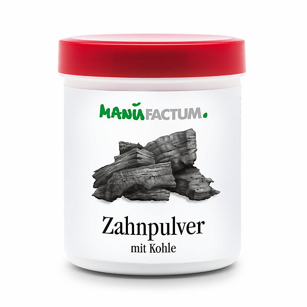 Manufactum Toothpowder with Charcoal