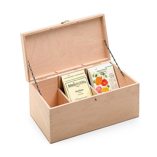 Manufactum Wooden Seed Box