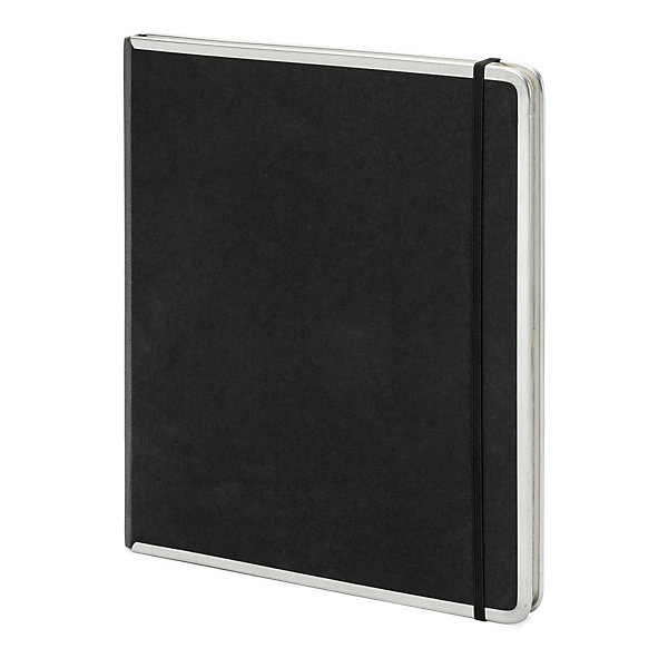 Metal edged office book