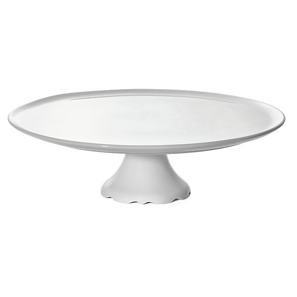 Porcelain Cake Plate with a Foot
