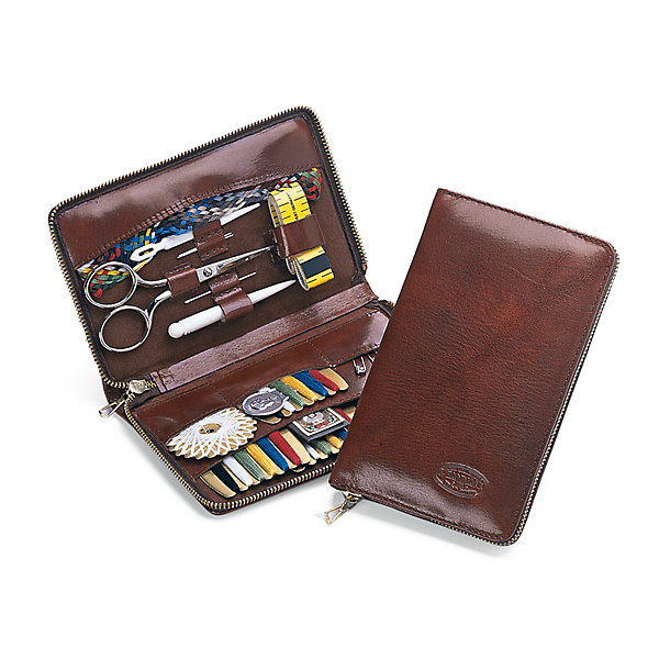 Sewing Kit Made of Cowhide
