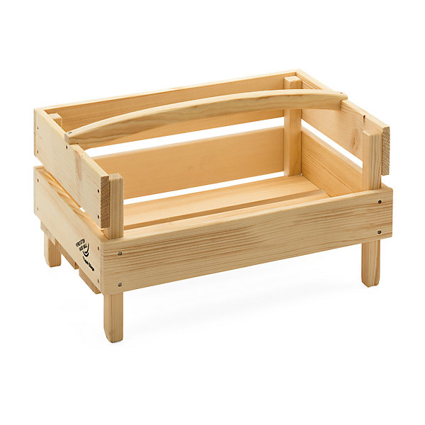 Spruce Wood Stacking Crate