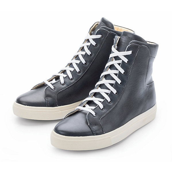 Werner Women's High Top Trainers Made from Olivenleder®