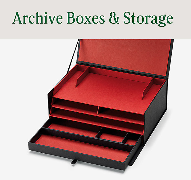 Archive Boxes & Storage