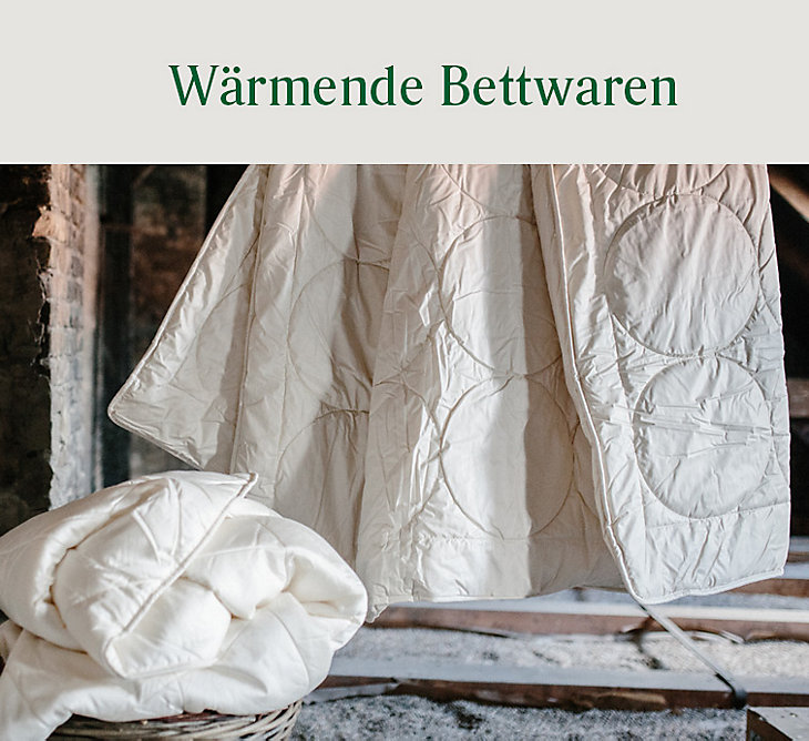 Bettwaren für den Winter
