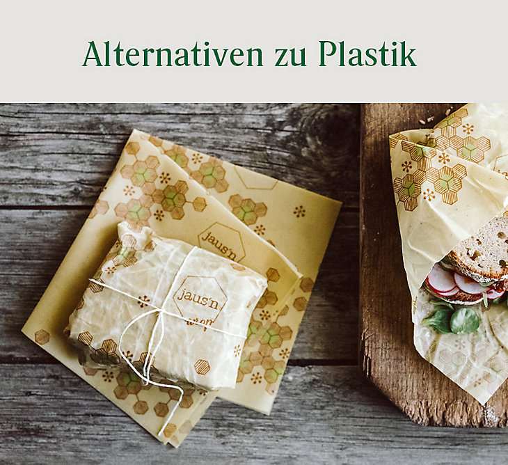 Alternativen zu Plastik