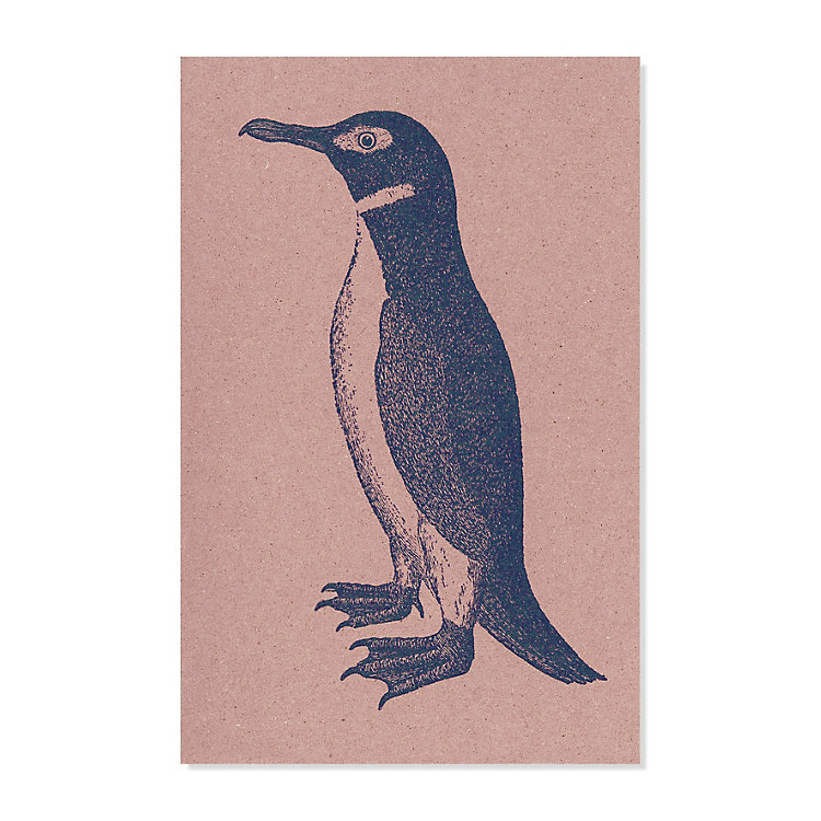 10 Greeting Cards with Animal Motifs Penguin
