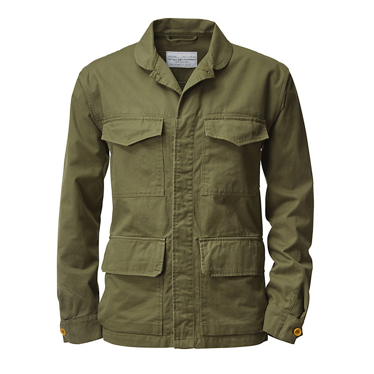 1ST PAT-RN Men's Cotton Jacket