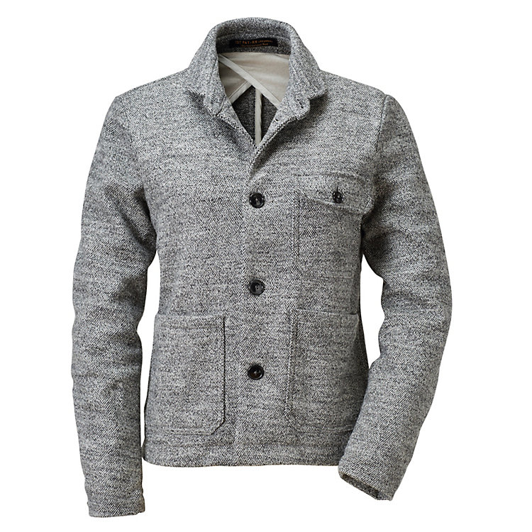 1ST PAT-RN Women's Shirt Jacket Grey mélange
