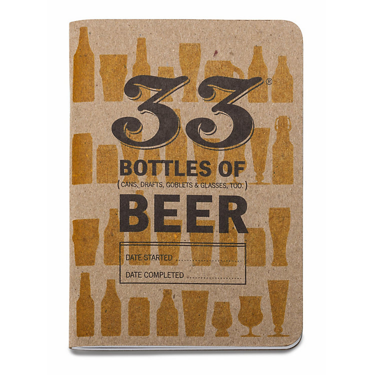 2 Beer Tasting Notebooks