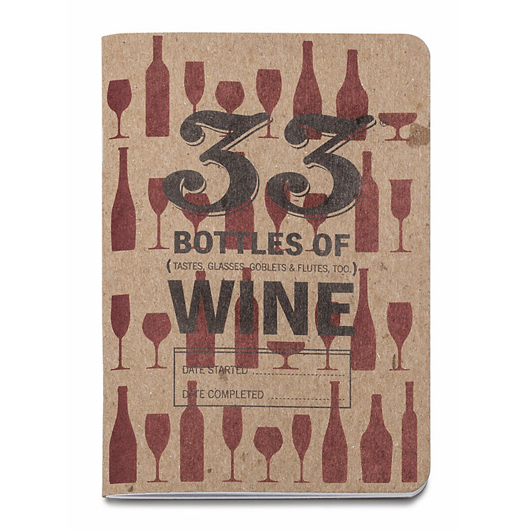 2 Red Wine Tasting Notebooks