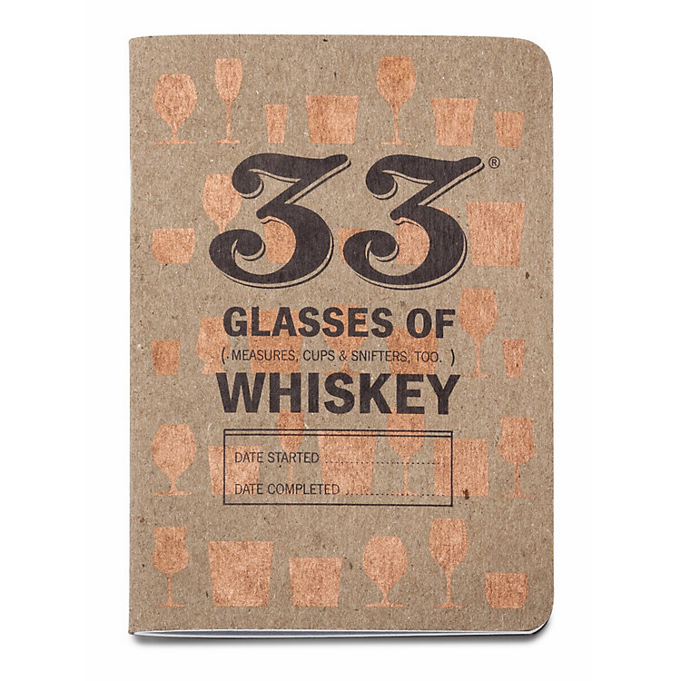 2 Whiskey Tasting Notebooks