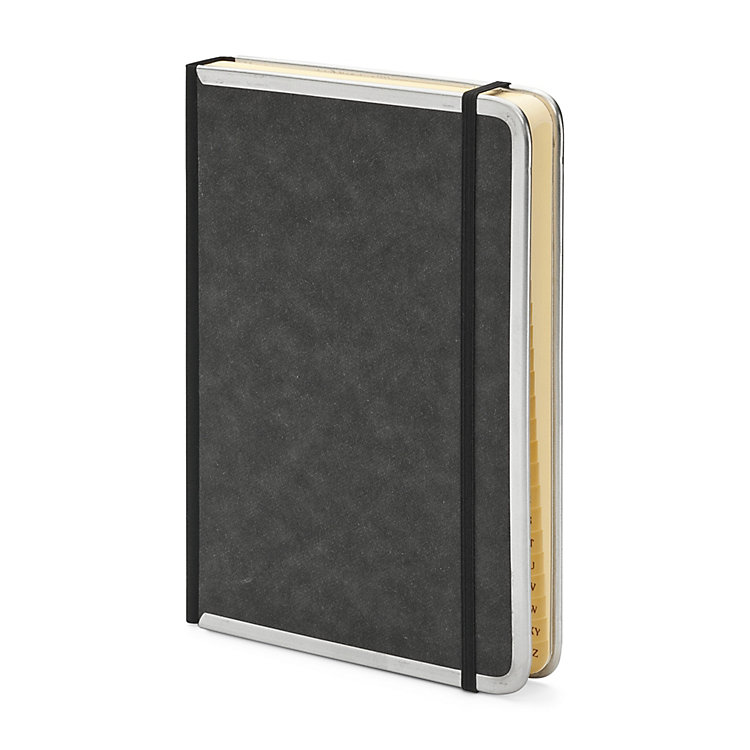 Address Book With Metal Corners A5