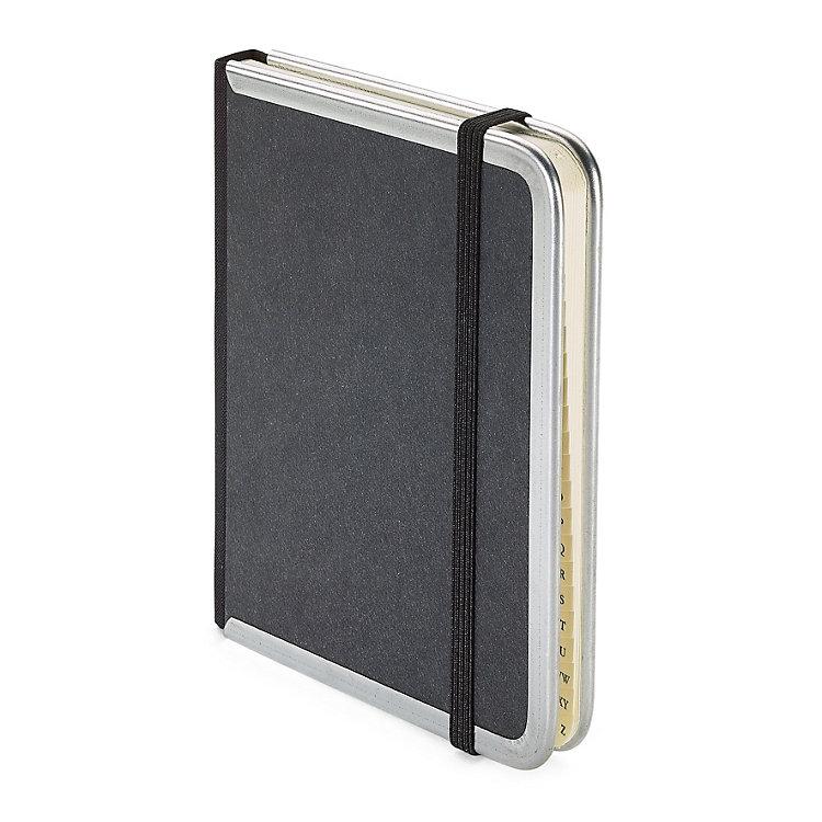 Address Book With Metal Corners A6