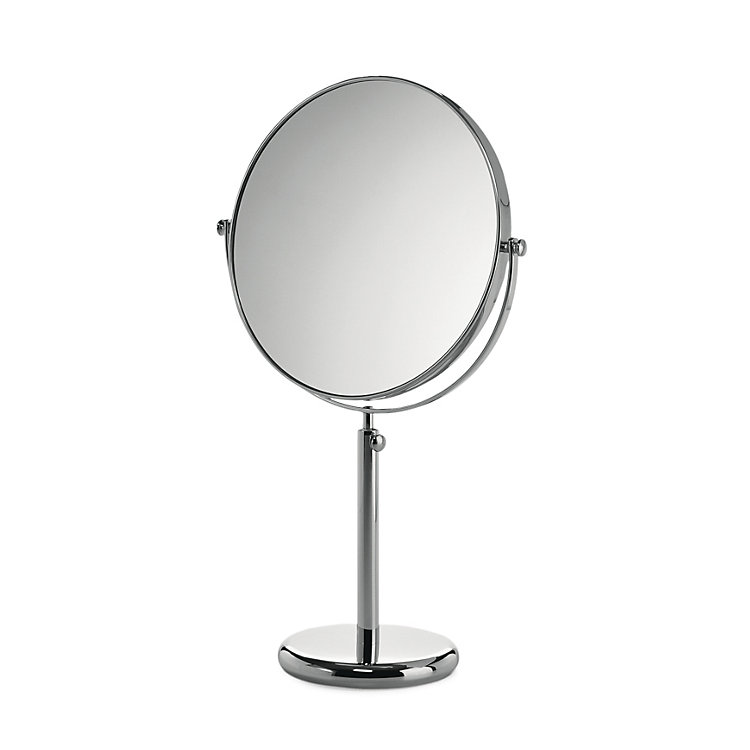 Adjustable Non-distorting Make-Up Mirror