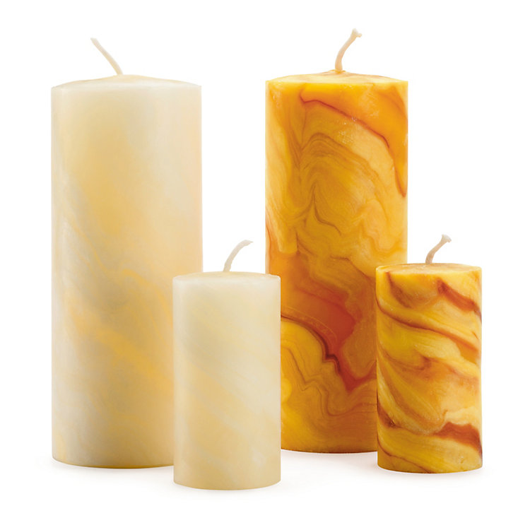 Advent Candle Beeswax Small Ivory