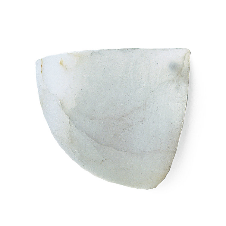 Alabaster Wall Light Flat