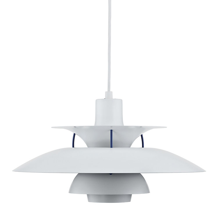 Aluminium PH 5 pendant lamp White