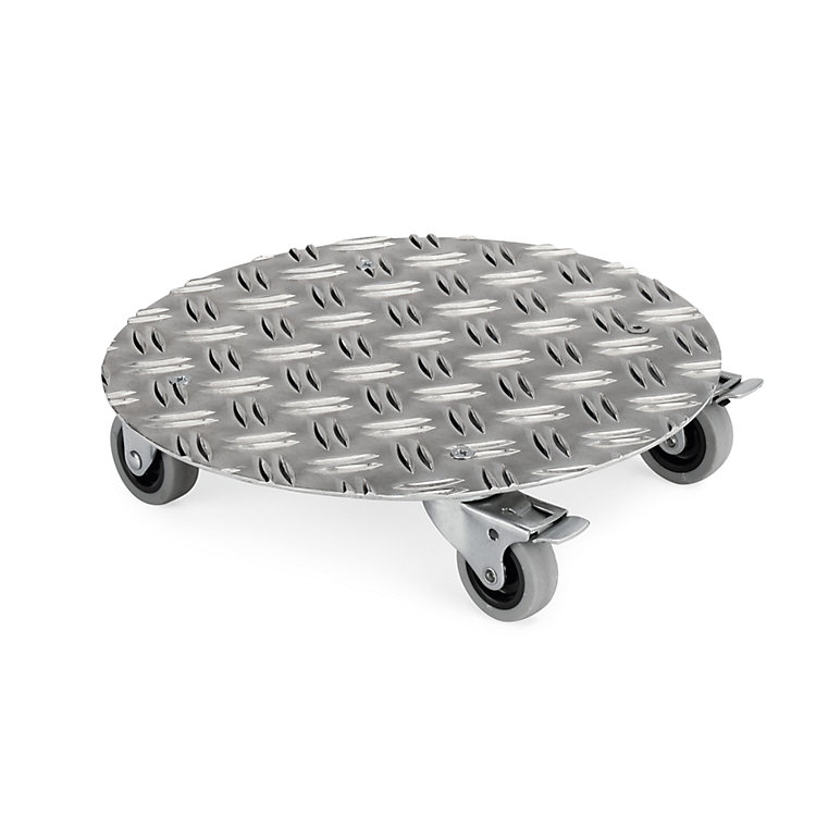 Aluminium Potted Plant Roller Small