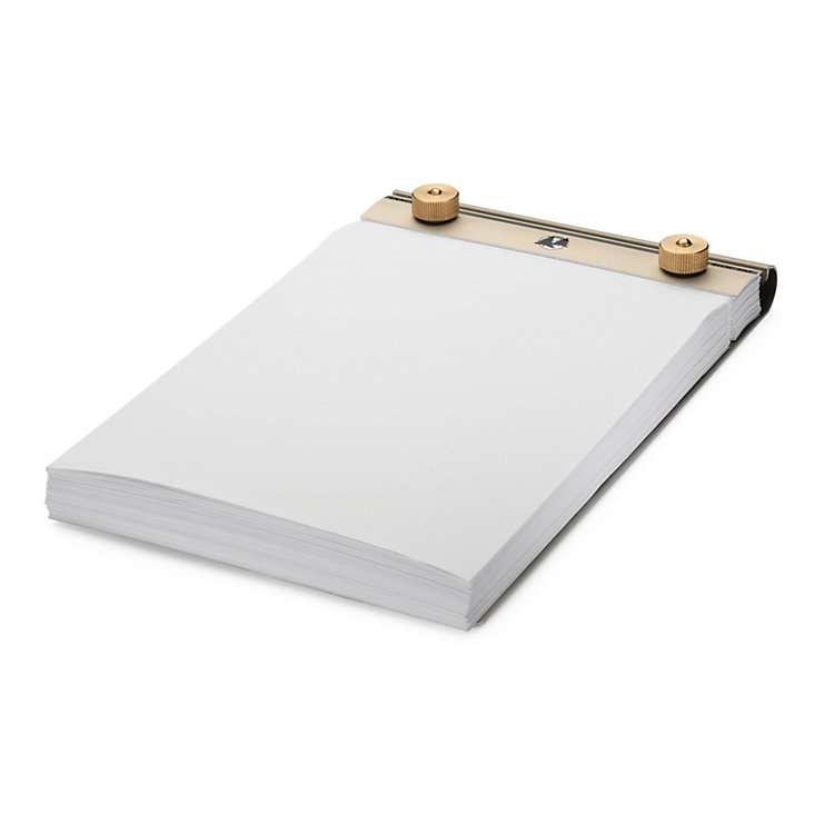 Aluminum and Brass Memo Pad Medium