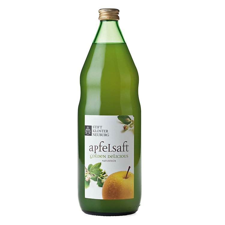 Apfelsaft Golden Delicious naturtrüb