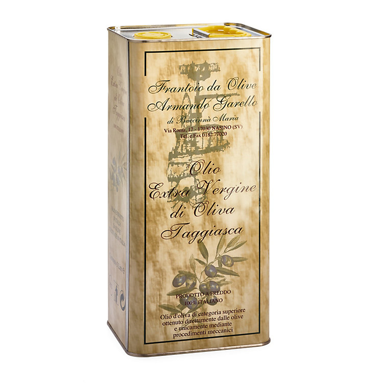 Armando Garello Olive Oil from Liguria 5 l canister