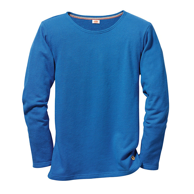 Armor lux Frottee-Shirt Azurblau