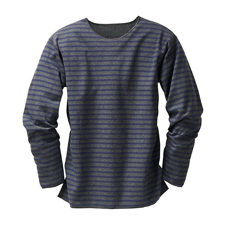 Armor lux Striped Shirt, Anthracite