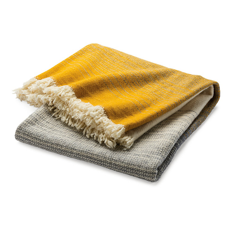 Arpin New Wool Blanket Colour Gradient