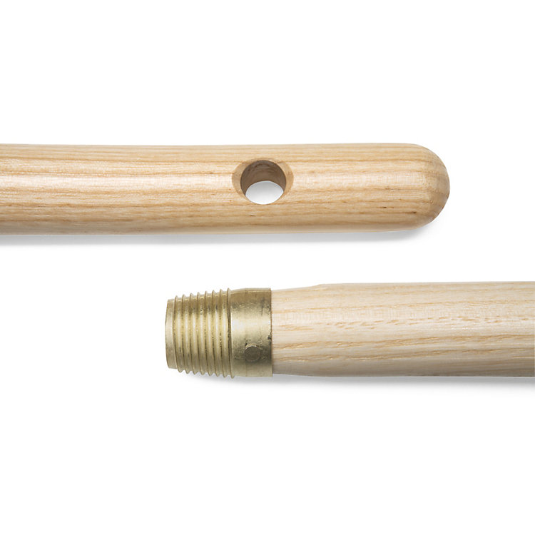 Ash Broom Handles with Thread