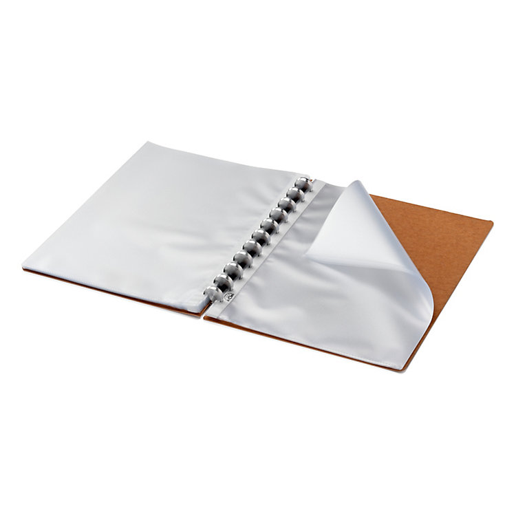 Atoma Clear Sheet Protector Binder