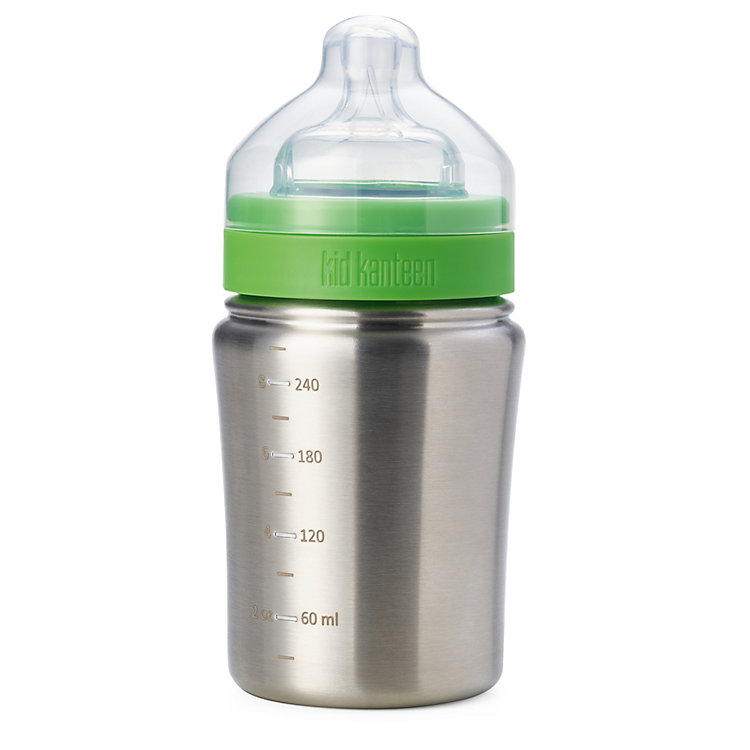 Baby Bottle Stainless Steel 266 ml